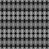Muster Afrika-B&W vektor abbildung
