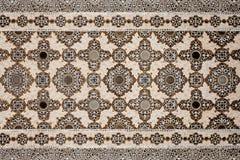 Muster auf dem Palast, Jaipur Lizenzfreies Stockfoto