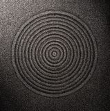 Muster auf dem Sand Stockbild