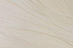 Muster auf dem Sand. stockfotografie