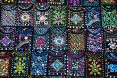 Muster auf der Tasche. Stockbilder