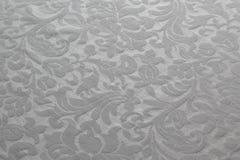Muster auf der Tischdecke Stockfotografie
