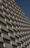 Muster auf einer Fassade Lizenzfreies Stockfoto