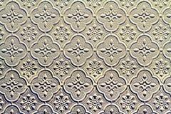 Muster auf gewölbtem Glas des Hintergrundes lizenzfreies stockbild