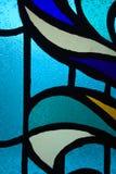 Muster auf Glas lizenzfreie stockfotos