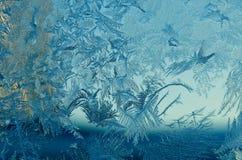 Muster auf Glas stockfotografie