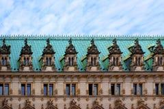 Muster auf historischem Gebäude Lizenzfreie Stockfotografie