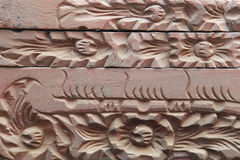 Muster auf Holz Lizenzfreie Stockfotografie