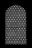Muster auf Humayuns-Grab Lizenzfreies Stockbild