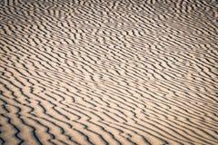 Muster auf roten Sanddünen Lizenzfreies Stockbild
