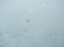 Muster auf Winterfenster. lizenzfreies stockfoto
