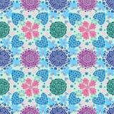 Muster blüht colorfull Lizenzfreie Stockbilder