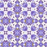 Muster boho Viola Vektor Abbildung