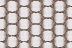 Muster Browns 3d Zusammenfassungs-Hintergrund nahtlos Stockfotos