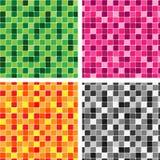 Muster deckt Beschaffenheit mit Ziegeln Lizenzfreies Stockfoto