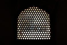Muster in den Gebäuden Stockbild
