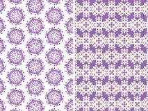 Muster in den purpurroten Farben Lizenzfreies Stockfoto