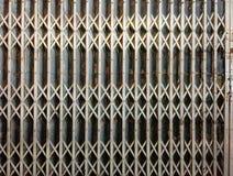 Muster der alten dehnbaren Tür Lizenzfreie Stockbilder