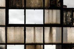Muster der alten gebrochenen Industrie Stockbilder