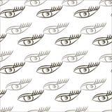 Muster der blauen Augen Lizenzfreie Stockfotos