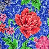 Muster der Blumenverzierung Stockbilder