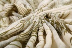 Muster der chinesischen Art gemacht von den Gewebeschals Stockbild
