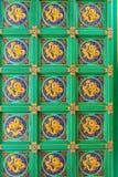 Muster der chinesischen Decke Lizenzfreies Stockbild