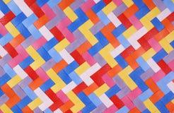 Muster der colorfull Streifen Lizenzfreie Stockfotos
