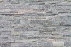 Muster der dekorativen Schiefersteinwandoberfläche Stockfotografie