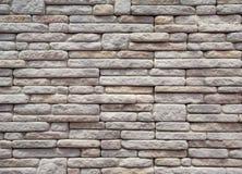 Muster der dekorativen Steinwandbeschaffenheit Lizenzfreie Stockfotografie
