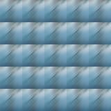 Muster der diagonalen grauen Abstraktion auf einem blauen Hintergrund Lizenzfreie Stockfotografie