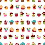 Muster der kleinen Kuchen Lizenzfreie Stockfotografie