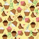 Muster der kleinen Kuchen Stockfotografie
