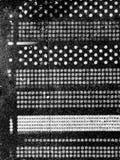 Muster der Kreise lizenzfreie stockfotografie