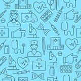 Muster der medizinischen Forschung Stockbilder