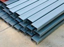 Rechteckige Stahlrohre Lizenzfreies Stockbild