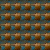 Muster der rostigen Metallwand und alte Farbe Lizenzfreies Stockfoto