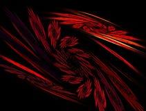 Muster der roten Leuchte Lizenzfreie Stockbilder