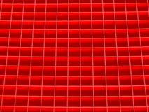 Muster der roten Quadrate Lizenzfreies Stockfoto