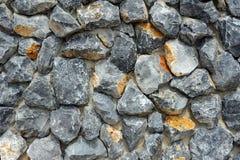 Muster der Steinwand Stockfoto