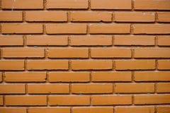 Muster der Wand des roten Backsteins für Hintergrund und gemasert Stockbilder