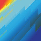 Muster des blauen Himmels Stockfoto