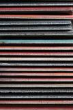 Muster des bunten Daches und der Fliese Lizenzfreie Stockfotografie