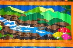 Muster des dekorativen Weihrauchs in der Parade Traditions-Verdienstaktion des Weihrauchs der buddhistischen führen vor Lizenzfreie Stockbilder