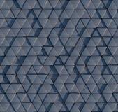Muster des dreieckigen Prismas 3D Lizenzfreie Stockfotos