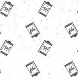 Muster des fotografischen Films auf Schmutzhintergrund Vector Illustration für Druck, Packpapier, Gewebe lizenzfreie stockfotos