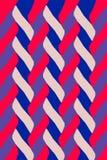 Muster des geometrischen Designs verschachtelt lizenzfreie abbildung