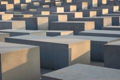 Muster des jüdischen Holocaust-Denkmals Stockfoto