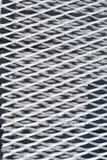 Muster des Metallrasterfeldes Lizenzfreie Stockfotos