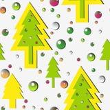 Muster des neuen Jahres stock abbildung